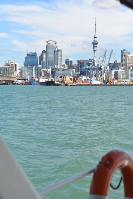 Auckland Skyline from Ferry