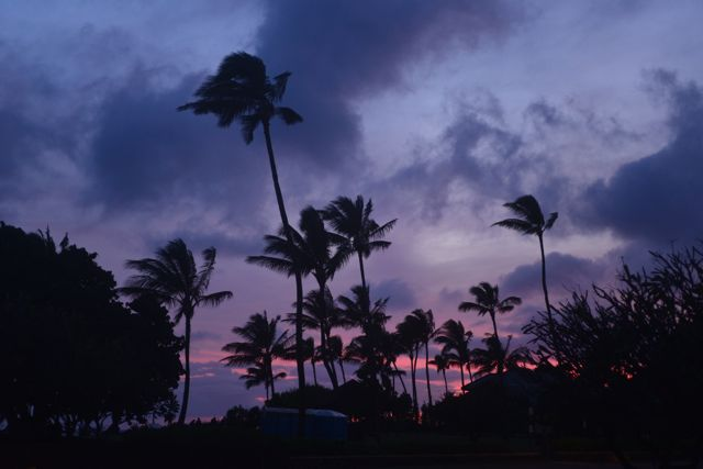 Sunset at Poipu