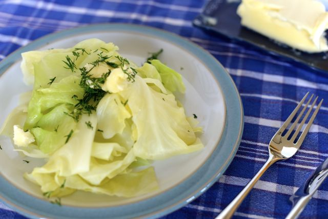 Cabbage with Butter and Dill