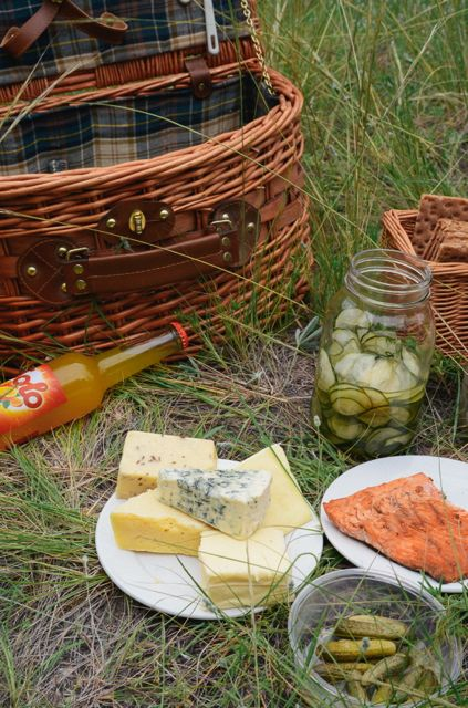 Midsummer Picnic Spread