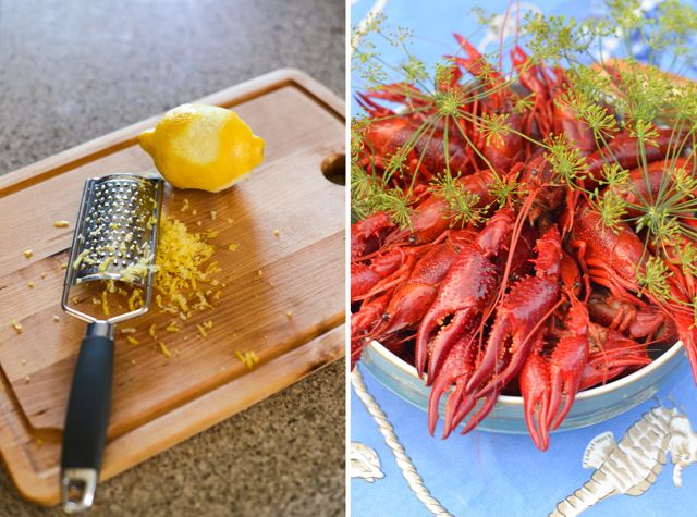 Lemon and Crayfish