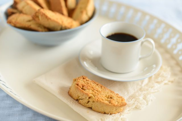 Swedish Almond Rusks with Coffee