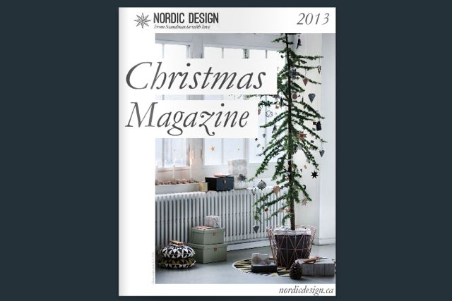Nordic Design Christmas Magazine 2013 Cover