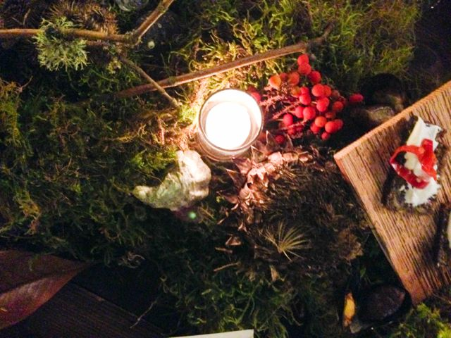 Redzepi Dinner Centerpiece