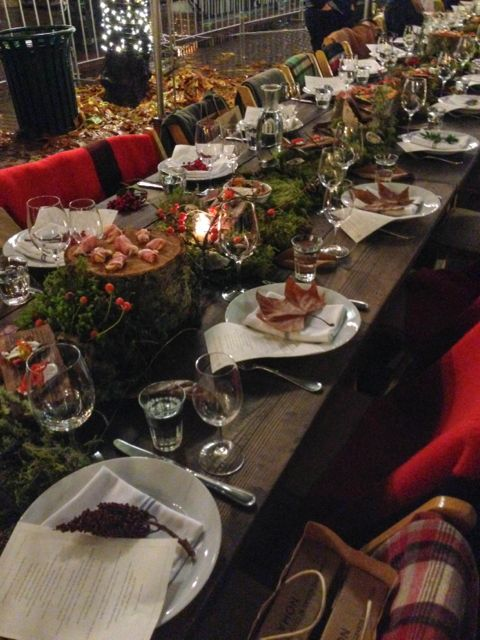 Redzepi Event Dinner Table