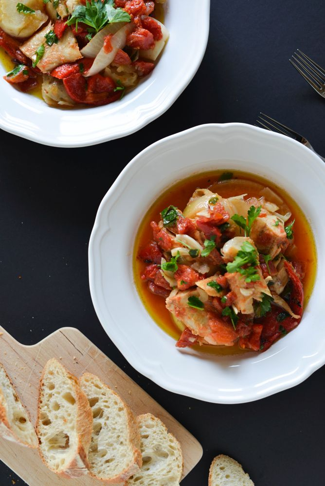 Norwegian Bacalao Stew