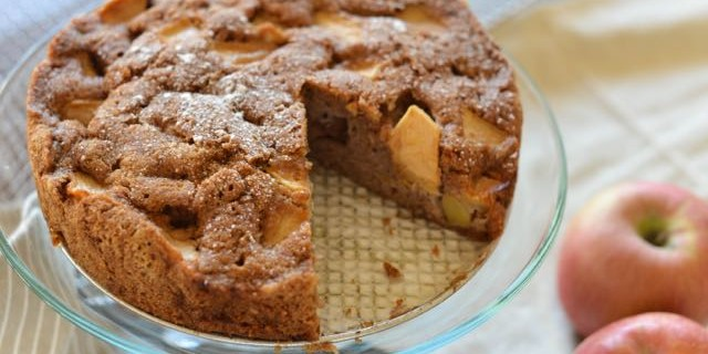 "Ashley Rodriguez's Apple Cake from ""Date Night In"""